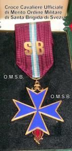 Croce Cavaliere Ufficiale di Merito