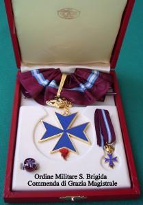 Croce di Commendatore di G.M. dell'Ordine Militare di S. Brigida