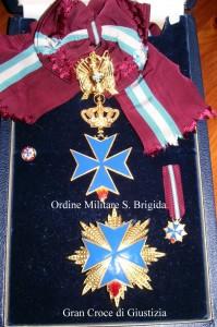 Croce di Cavaliere di Gran Croce dell'Ordine Militare di S. Brigida