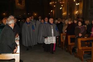Cavalieri S. Brigida - ingresso in Chiesa S. Brigida