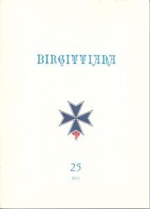 BIRGITTIANA  nr. 25 anno 2011