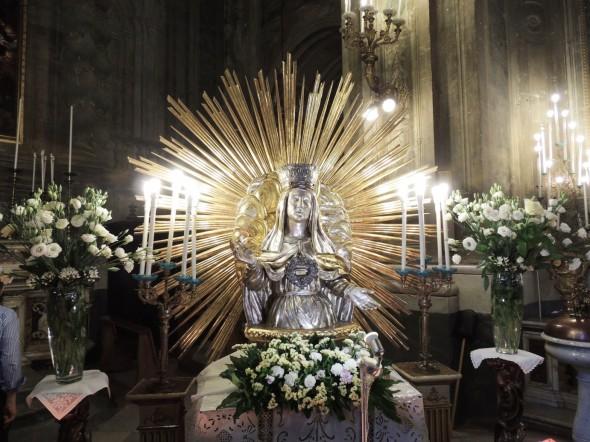 Il busto di S. Brigida